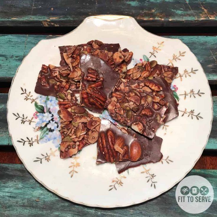 Keto Chocolate Bark (Fat Bomb)
