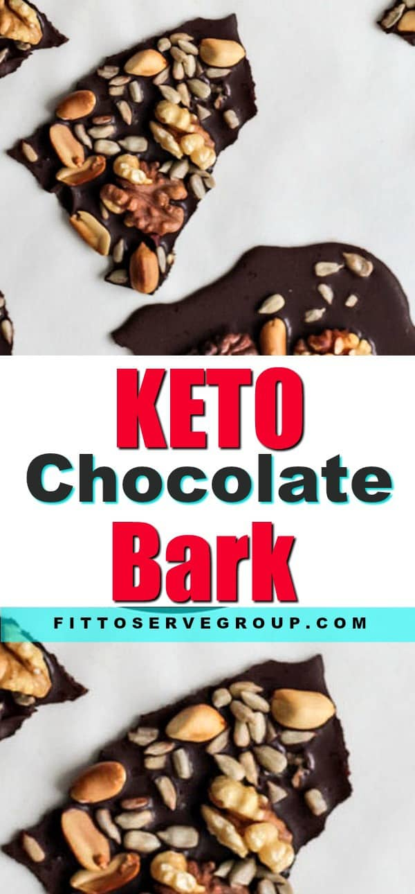 Keto Chocolate Bark Fat Bomb