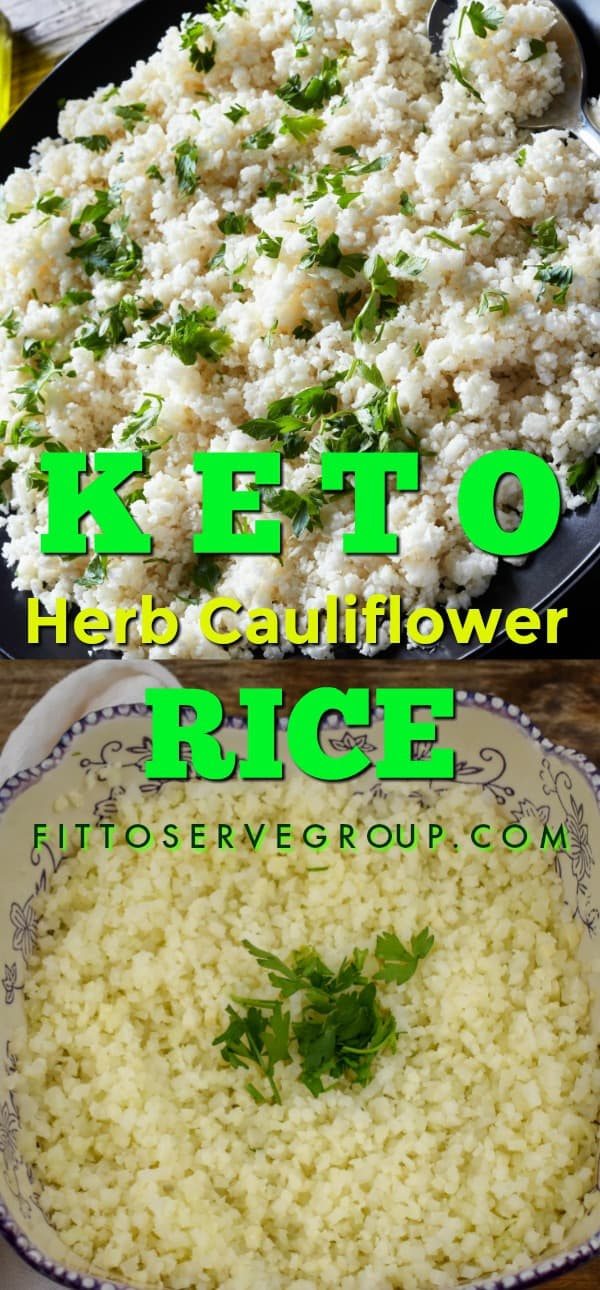 how to make keto cauliflower rice