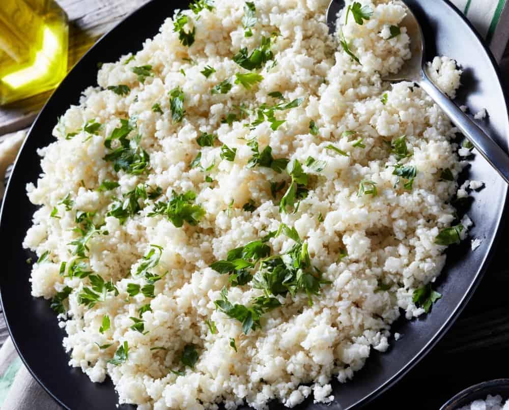 keto herb cauliflower rice