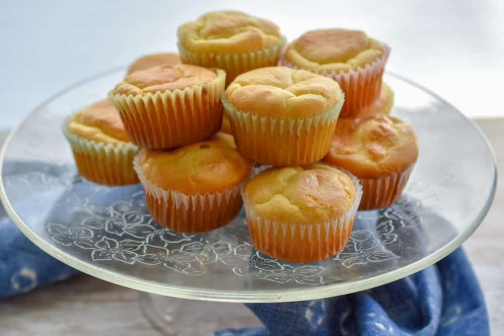 keto pound cake cupcakes