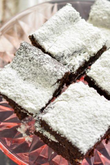 Keto Chocolate Flaxseed Cake