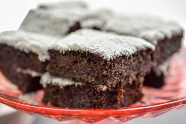 Keto Hershey's Chocolate Flaxseed Flour Cake
