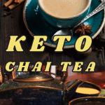 Keto Chai Tea Latte long pin