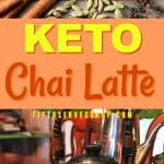 Enjoy traditional chai tea, Masala chai with this simple Keto Chai Latte without the sugar spikes. It's a delicious blend of fragrant spices, black tea and keto-friendly sweetener and milk. keto chai latte|keto masala chai| low carb chai tea|