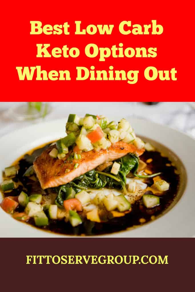 dinning out on low carb keto