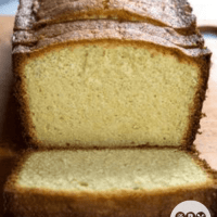 Low Carb Keto Cream Cheese Pound Cake