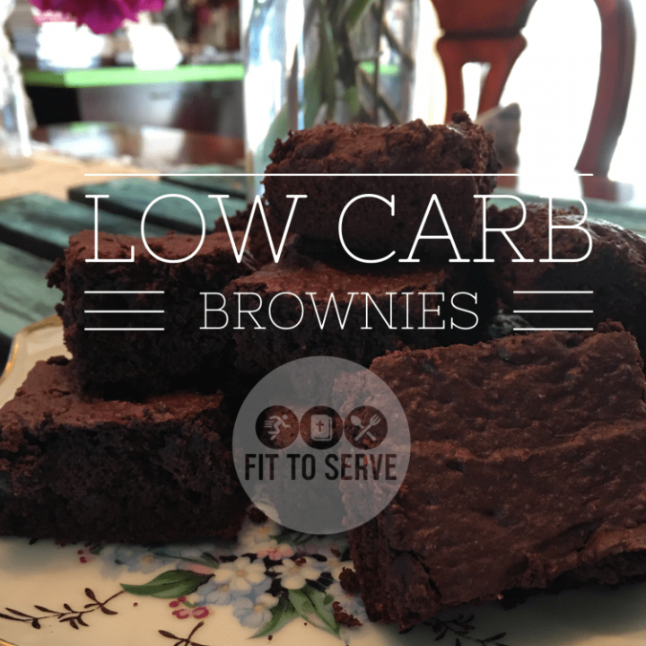 Healthy Low Carb Brownies