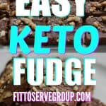 keto cream cheese fudge