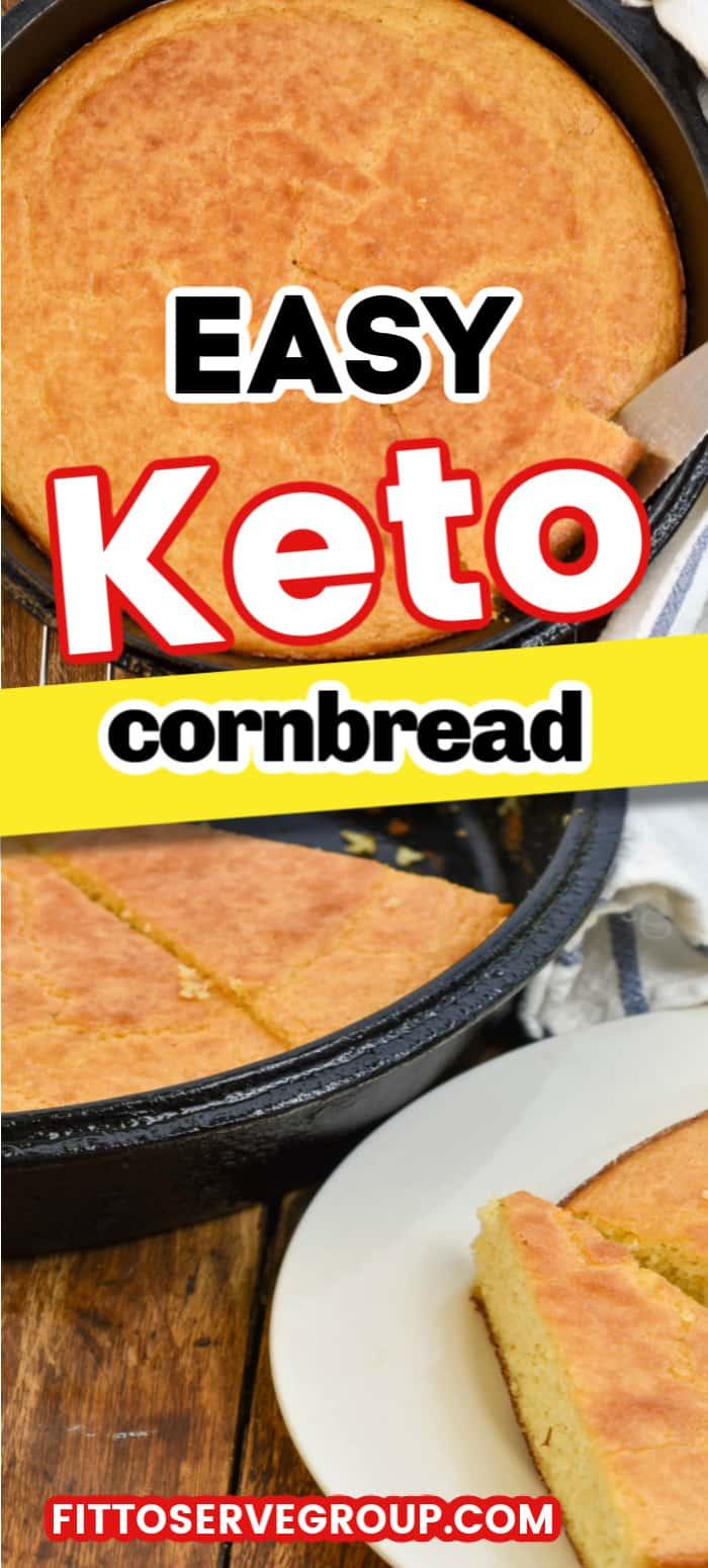 Easy Keto Cornbread