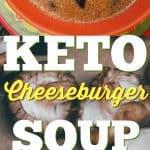 Keto Cheeseburger Soup