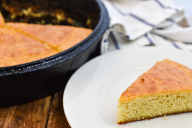 Easy keto cornbread with corn extract