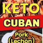 keto cuban pork in a slow cooker