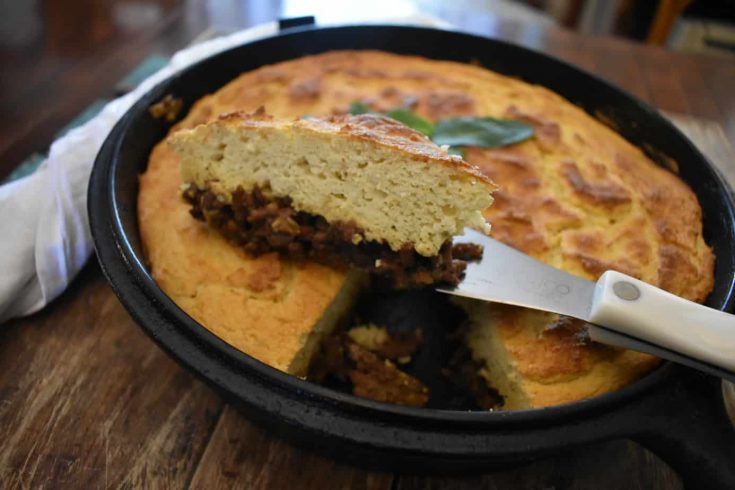 Keto Tamale Pie (Chili With Cornbread)