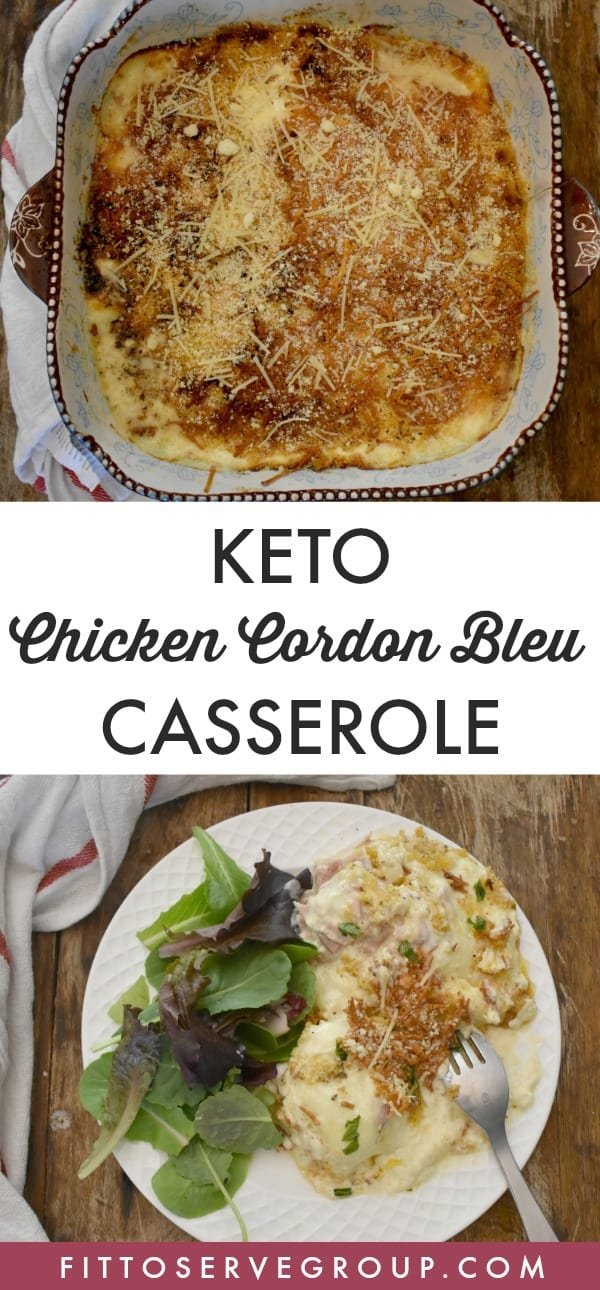 Keto Chicken Cordon Bleu