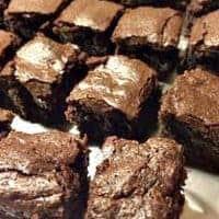 Keto Mocha Blackout Brownie
