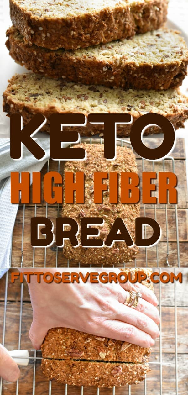 Keto's high fiber bread