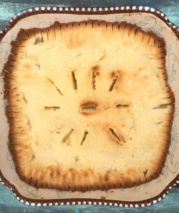Keto Mock Apple Pie