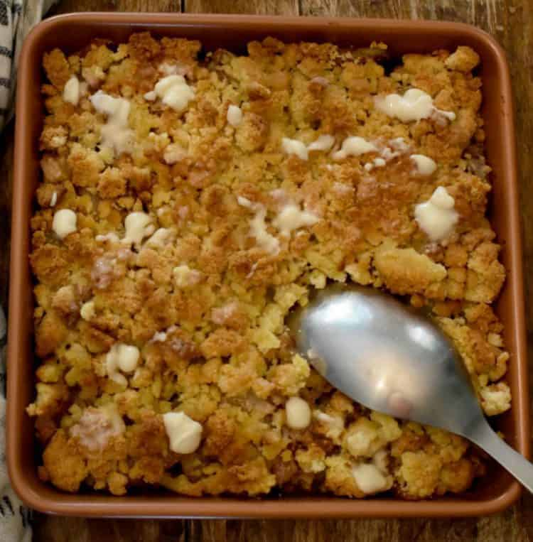 Keto Apple Cobbler