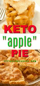 This delicious keto mock apple pie creatively uses chayote squash in place of apples. Allowing you to enjoy a keto apple pie that gives you all the flavor of traditional apple pie minus all the carbs. keto apple pie| keto mock apple pie|low carb apple pie| mock apple pie