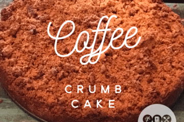 low carb coffee crumb cake