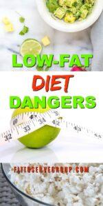 Low fat diet dangers