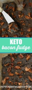 keto bacon fudge
