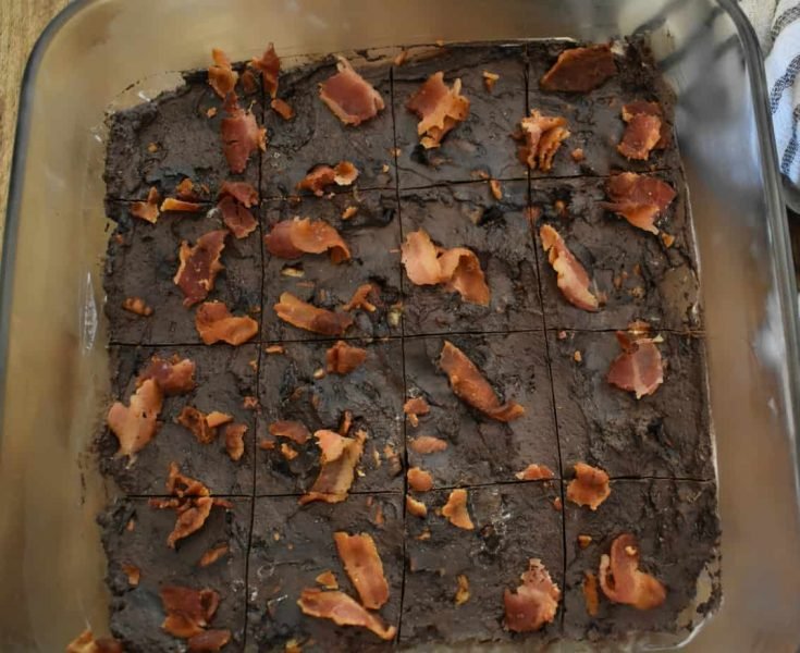 Keto Bacon Fudge, Cuz It Involves Chocolate and Bacon