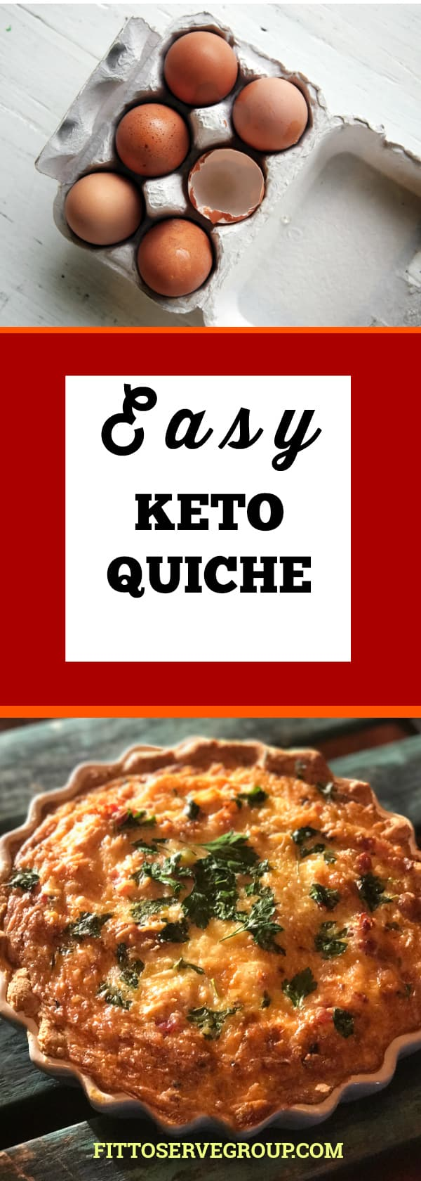 easy keto quiche a fast way to make a low carb keto quiche