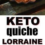 Keto Quiche Lorraine