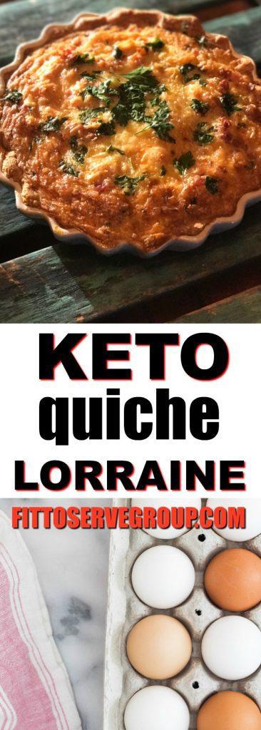 Easy Keto Quiche Lorraine