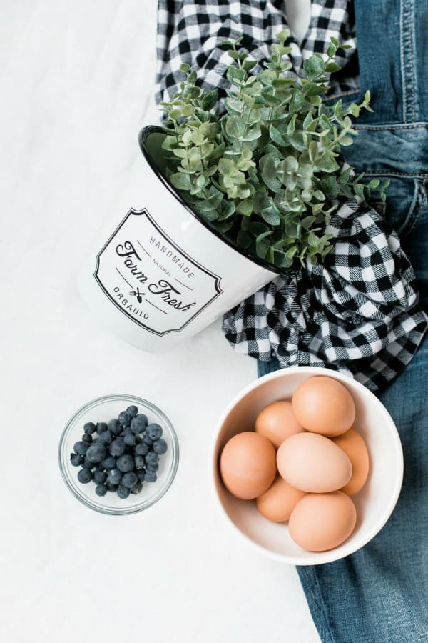 eggs in prep for keto low carb Quiche Lorraine