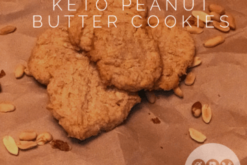 Easy low carb keto peanut butter cookies