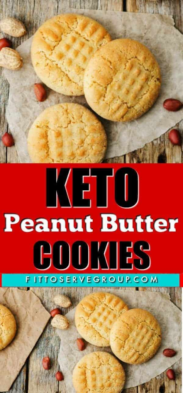 If what you are wanting is a recipe for Keto Peanut Butter Cookies that reminds you of the traditional one you grew up on, then this is the recipe for you. It's not only easy to make but it produces a low carb peanut butter cookie that has the perfect texture. #ketopeanutbuttercookies #lowcarbpeanutbuttercookies #easyketopeanutbuttercookies #ketocookies #lowcarbcookies