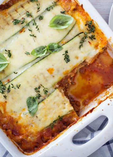 Easy Keto Lasagna