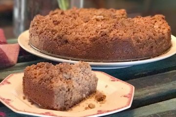 keto sour cream coffee cake
