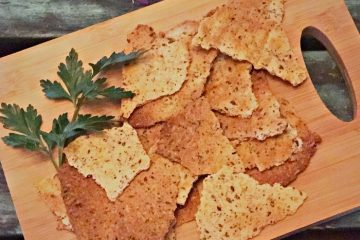 Keto high fiber cracker