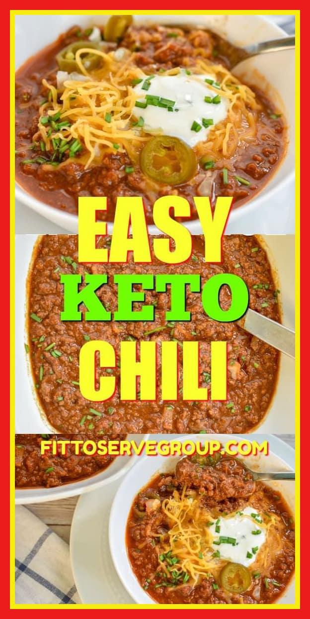 Easy keto chili