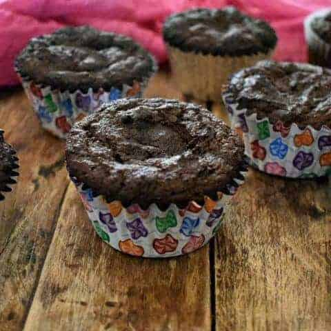 keto chocolate sour cream cupcakes-2