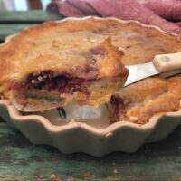 Keto Berry Cheese Pie