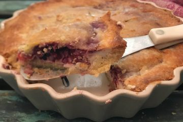 low carb Keto berry cheese pie
