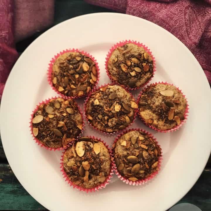 low carb high fiber breakfast muffins