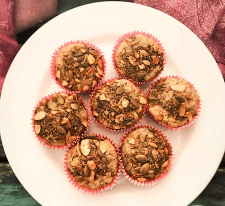 Keto High Fiber Breakfast Muffins