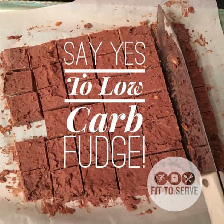 Low Carb Keto Fudge
