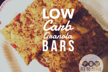 Keto Nutty Granola Bars