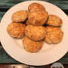 low carb Keto cheesy biscuits