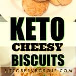 Keto cheesy biscuits