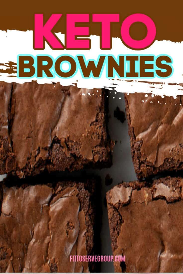 Enjoy these rich keto brownies that were inspired by daughter Michelle after she requested I transform her favorite brownie recipe into a low carb keto-friendly option. The result are these rich, moist delicious low carb option. #ketobrownies #lowcarbbrownies #sugarfreebrownies #grainfreebrownies