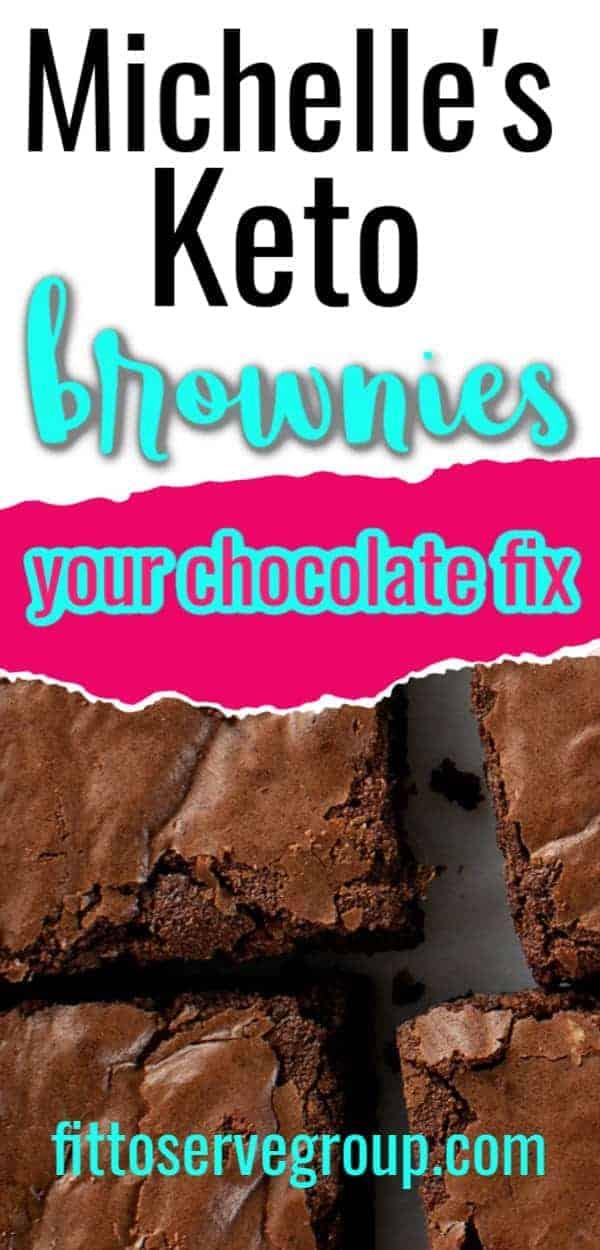 Michelle's keto brownies