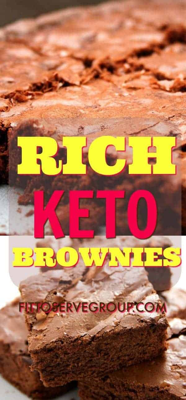 These rich keto brownies were inspired by daughter Michelle after she requested I transform her favorite brownie recipe into a low carb keto-friendly option. keto brownies| low carb brownies| sugar free brownies|grain free brownies